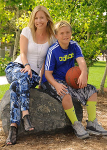Courtney Murphy and Son