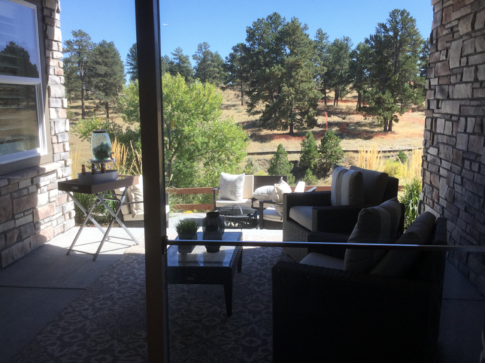 Whispering Pines view