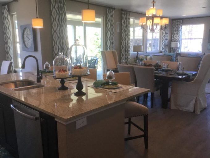 new home at Beacon Point in Aurora