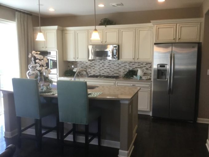 New home at Wheatlands in Aurora