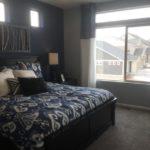 Master bedroom in Julesberg model at Green Valley Ranch in Denver