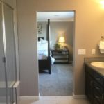 Master suite of model at High Point by Century Communities in Denver.
