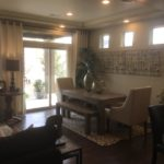 Dining area of Gunnison model at Green Valley Ranch in Denver