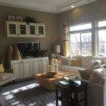 Family room Cypress model Fairway Villas at Green Valley Ranch in Denver