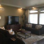 Family room of Gunnison model at Green Valley Ranch in Denver