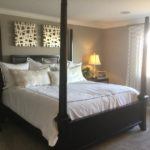 Master bedroom of model at High Point by Century Communities in Denver.