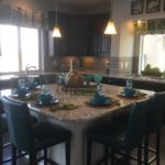 Kitchen of Pagosa model at Vista Point at Green Valley Ranch in Denver.