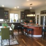 Kitchen of Yampa model at Green Valley Ranch in Denver