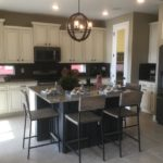 Kitchen in Gleaneagle model at Green Valley Ranch in Denver.