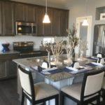 Kitchen in Julesberg model at Green Valley Ranch in Denver