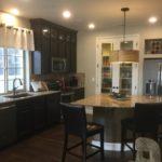 Kitchen of of Gunnison model at Green Valley Ranch in Denver