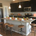 Kitchen in Lansford model at Green Valley Ranch in Denver