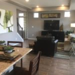 Family room in Montpelier model at Green Valley Ranch in Denver