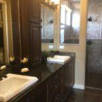 Master bath in Augusta model Fairway Villas at Green Valley Ranch in Denver