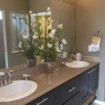 Master bathroom Cypress model Fairway Villas at Green Valley Ranch in Denver