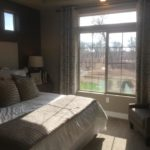 Master bedroom in Gleaneagle model at Green Valley Ranch in Denver.