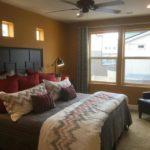 Master bedroom of Surrey Model at Green Valley Ranch in Denver