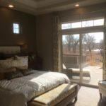 Master bedroom Cypress model Fairway Villas at Green Valley Ranch in Denver
