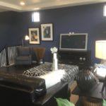 Family room in Julesberg model at Green Valley Ranch in Denver