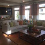 Main living area in Lansford model at Green Valley Ranch in Denver