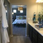 Master bath of Pagosa model at Vista Point at Green Valley Ranch in Denver.