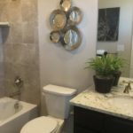 Bathroom of the Legacy model by Lennar at Stapleton in Denver
