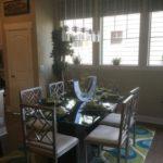 Dining area in the Salida model at Stapleton in Denver