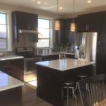 Kitchen of Highland model at Stapleton in Denver