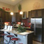Kitchen of Clarkson model at Stapleton in Denver