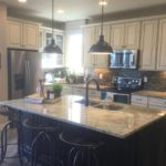Kitchen of the Cedar model by KB Homes at Stapleton in Denver