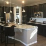 Kitchen of the Legacy model by Lennar at Stapleton in Denver