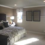 Master bedroom of the Cedar model by KB Homes at Stapleton in Denver
