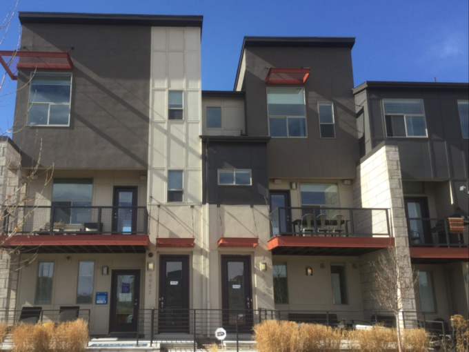 rowhomes at stapleton in denver by thrive home builders