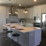 kitchen of the Greenwich model in the CityScapes collection by Richmond in Littleton Colorado