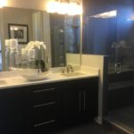 Master bath of the SoHo model by Richmond in Littleton