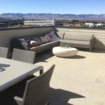 Rooftop deck of the Greenwich model in the CityScapes collection by Richmond in Littleton Colorado