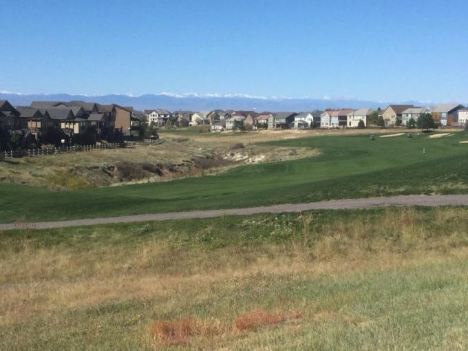 Golf at Canterberry Crossing in Parker, CO