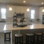 Kitchen of the Hopewell model by Richmond at Cobblestone Ranch in Castle Rock Colorado