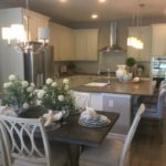 Kitchen of the Arlington model by Richmond at Cobblestone Ranch in Castle Rock Colorado