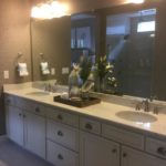 Master bath of the Arlington model by Richmond at Cobblestone Ranch in Castle Rock Colorado