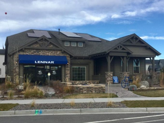 New homes at Sterling Ranch Colorado