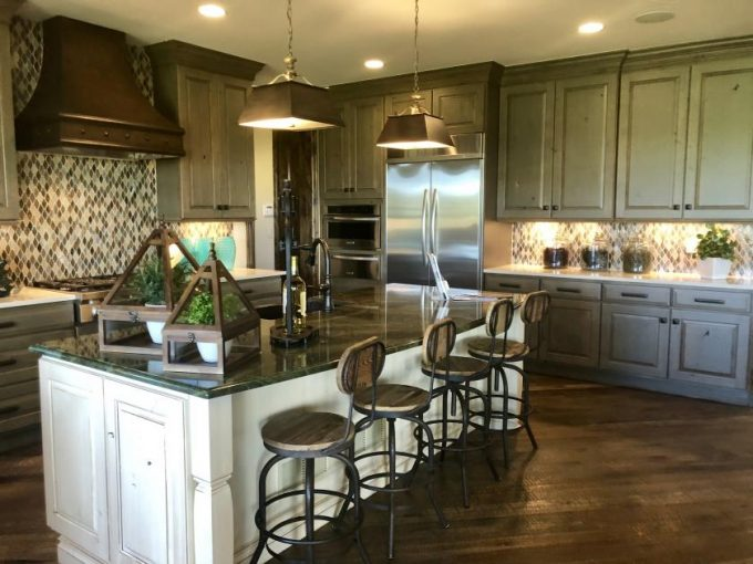 Model home by Celebrity Communities at Pradera in Parker Colorado
