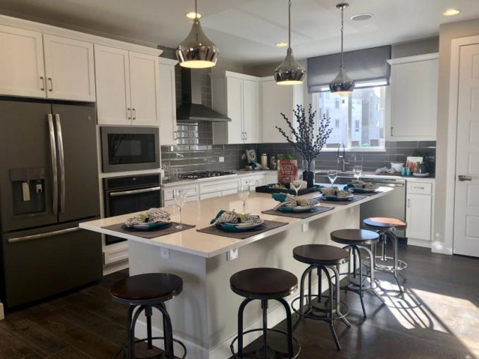 New homes in Castle Rock, Cityscapes at the Meadows by Richmond
