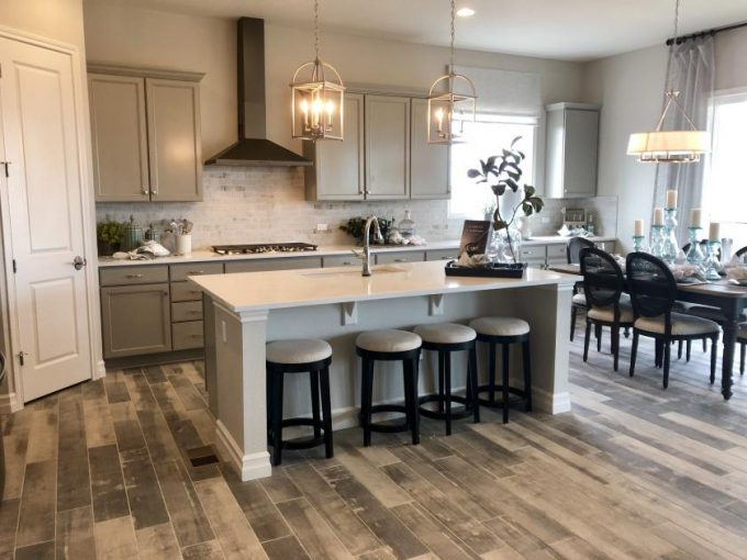 New homes in Aurora Colorado at Copperleaf by Richmond