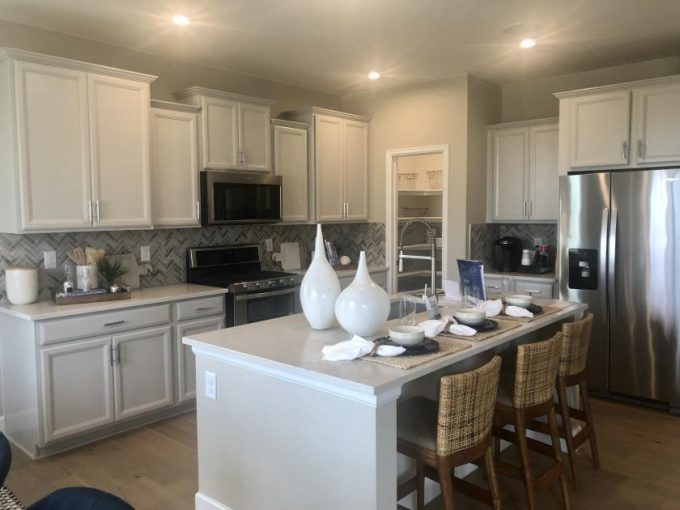 Castlewood model by Meritage Homes at Senderos Creek in Parker Colorado