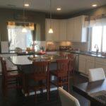 Kitchen of Cortez model at Vista Point at Green Valley Ranch in Denver.