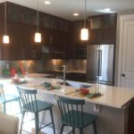 Kitchen of the Maple model by KB Homes at Stapleton in Denver.
