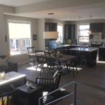 Main living of Highland model at Stapleton in Denver
