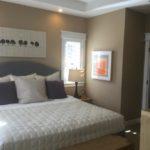 Master bedroom of Speer Model by Thrive at Stapleton in Denver