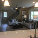 Great room of the Hopewell model by Richmond at Cobblestone Ranch in Castle Rock Colorado